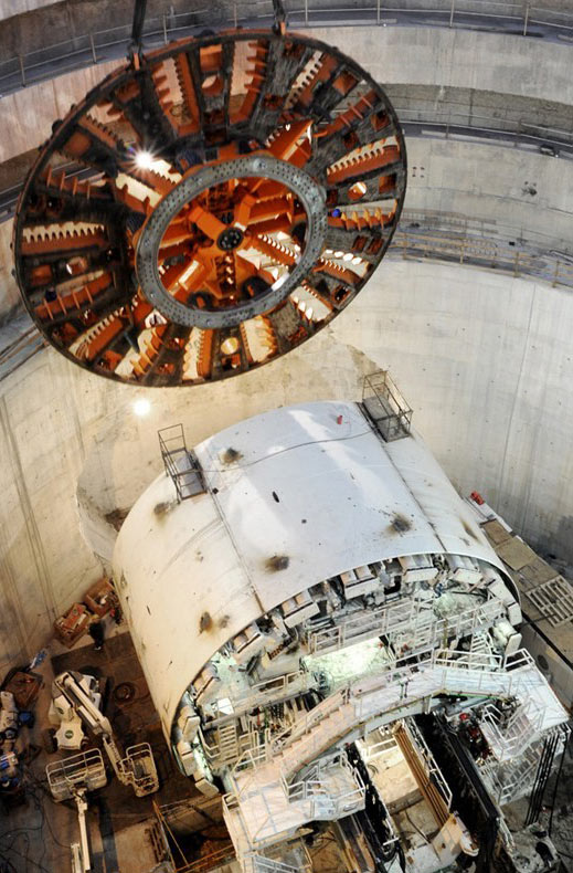 Montaje tuneladora
